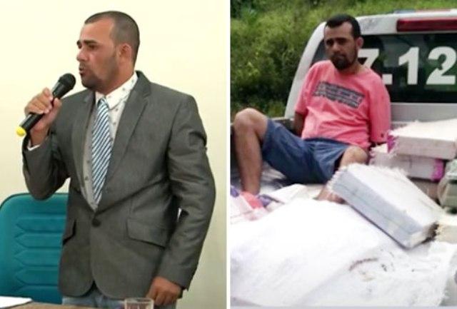 Bahia: Acusado de tráfico de drogas, vereador consegue habeas corpus, participa de sessão e é aplaudido