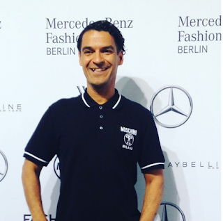 Michael Dierks auf der Mercedes Benz Fashion Week 2016