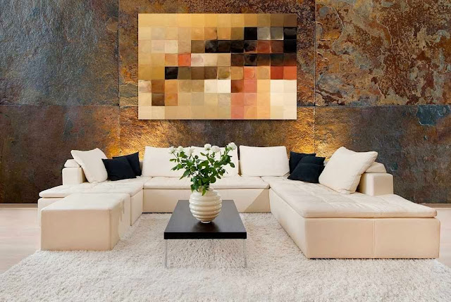 Home Furniture Decorating with Modern Art