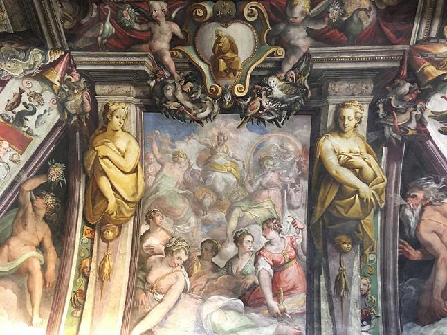 Mercoledì 4 Dicembre 2019, h 10:15 - Palazzo Firenze, residenza romana dei Medici, e la Loggia del Primaticcio