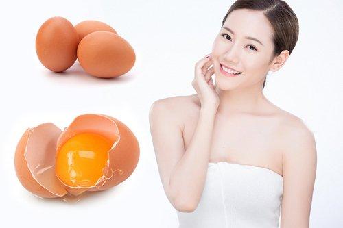 Mặt nạ làm trắng da bằng trứng gà dành cho da mệt mỏi