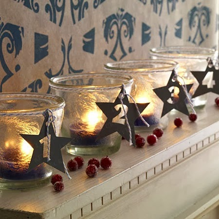 bloggher countdown to christmas light the candles. Black Bedroom Furniture Sets. Home Design Ideas