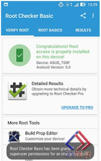 Cara check Ponsel Android sudah Root atau  UnRoot