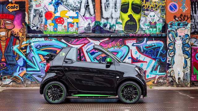 Versión descapotable del Smart ForTwo Electric Drive