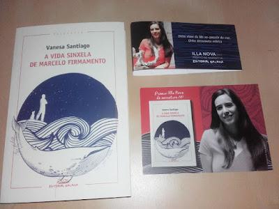 A vida sinxela de Marcelo Firmamento libro
