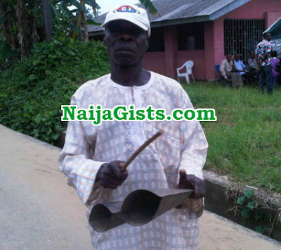 town crier stabbed to death ebonyi