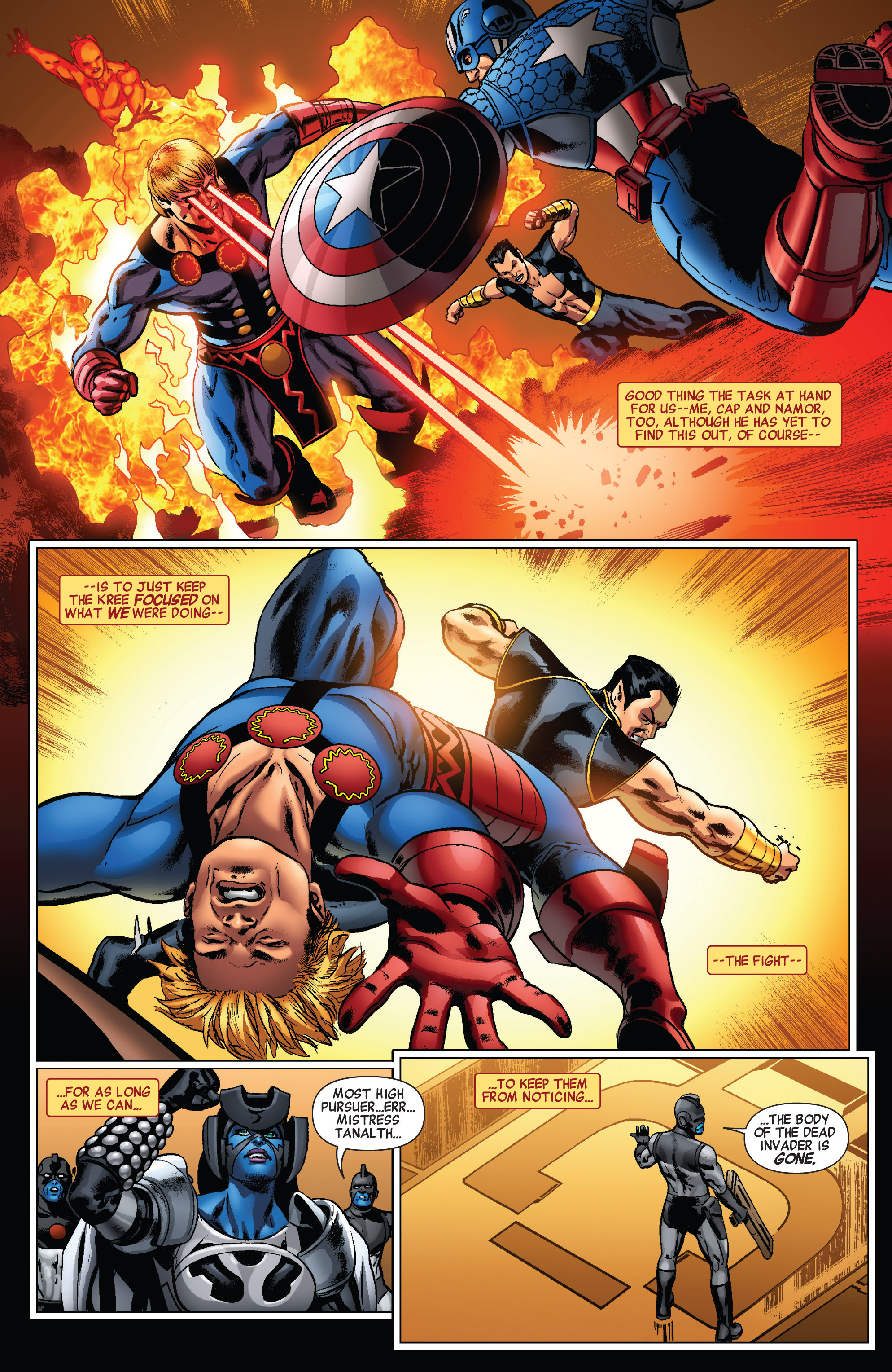 Read online All-New Invaders comic -  Issue #4 - 16