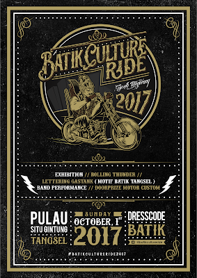 Batik Culture Ride 2017 Riding Pake Batik, Kapan lagi brads?!