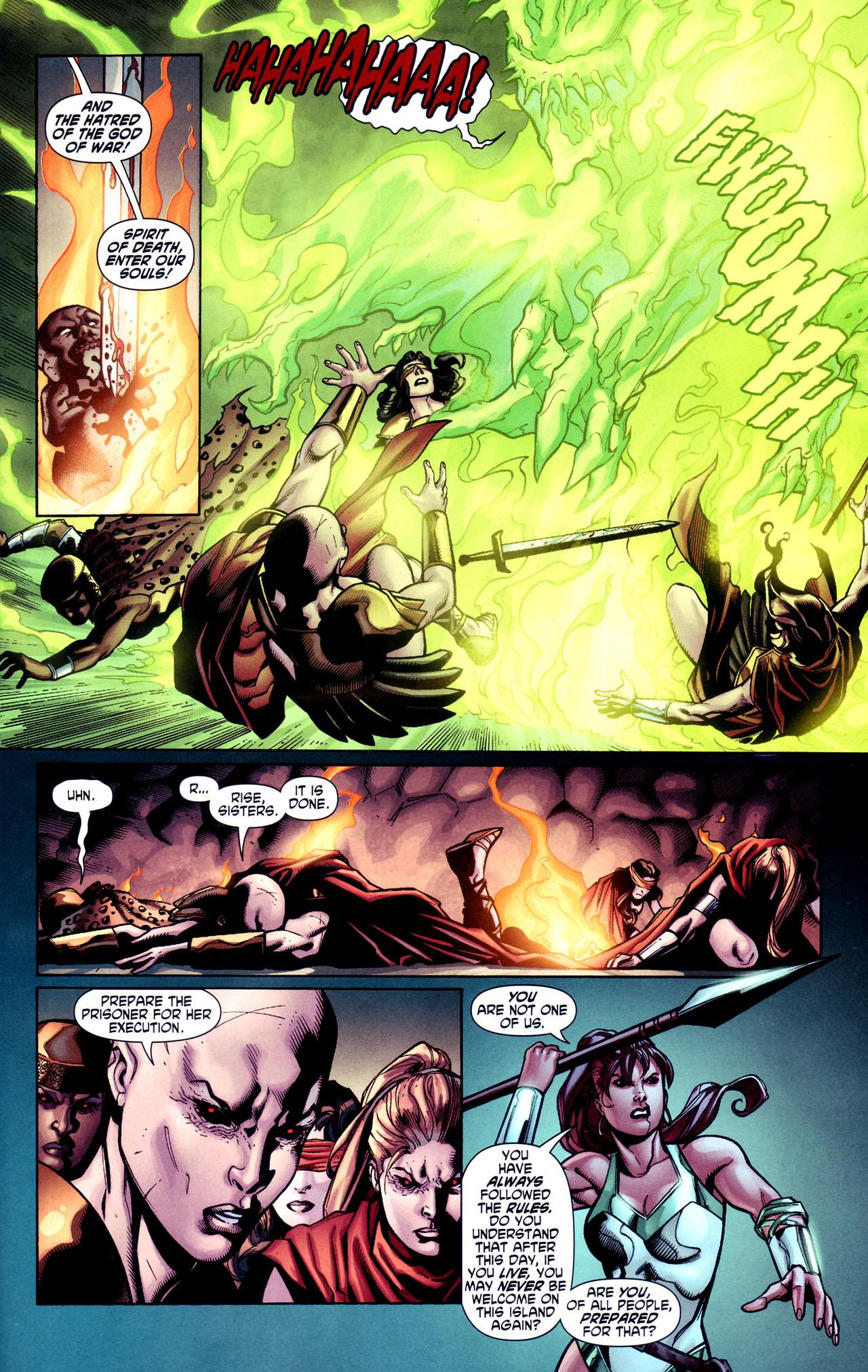 Read online Wonder Woman (2006) comic -  Issue #38 - 16