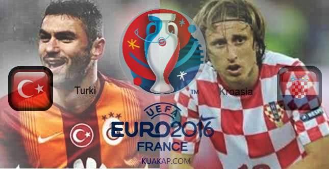 Prediksi Skor Turki Vs Kroasia 12 Juni 2016 Group D Serta Susunan Line Up Pemain