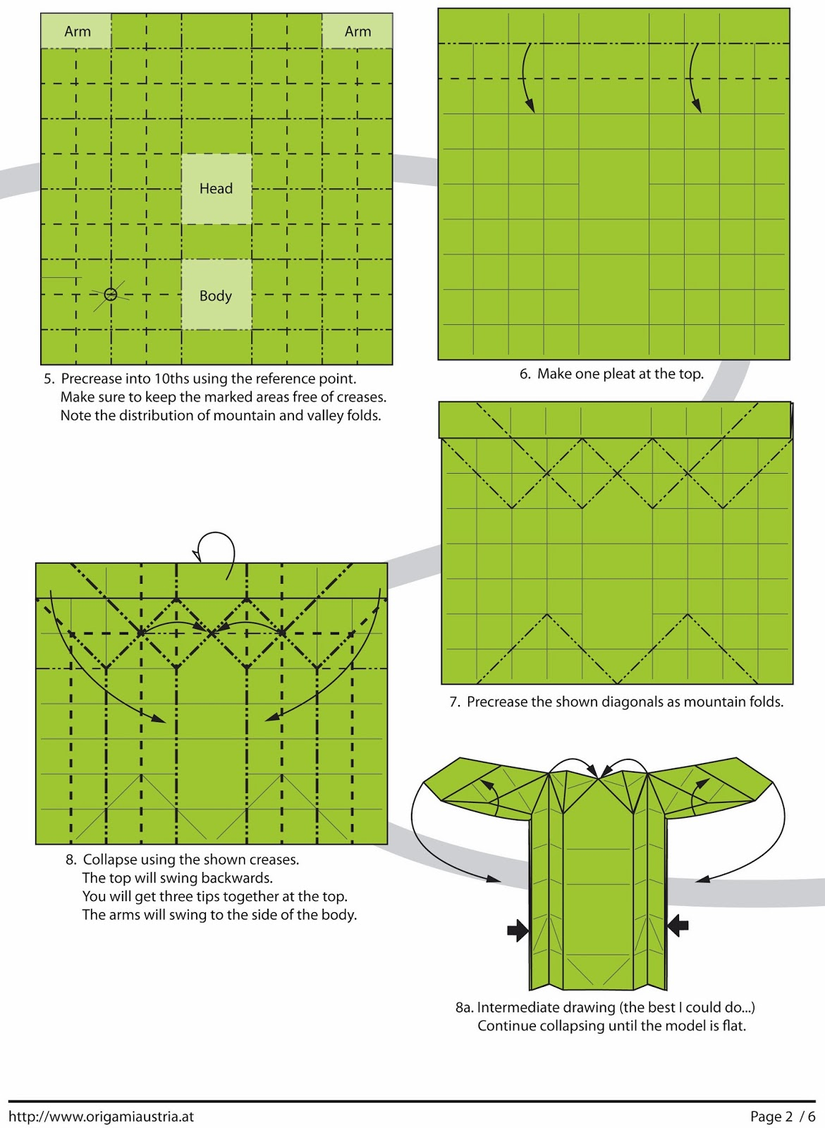 Folding Origami Box Diagram Gas Golf Cart Wiring Unique Android Paper Guide