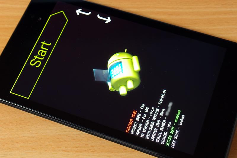 【Nexus4】Android 5.0.1 OTAリンクのzipからアップデート 2