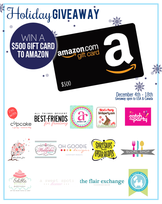 Giveaway | $500 Amazon Party Shopping Spree