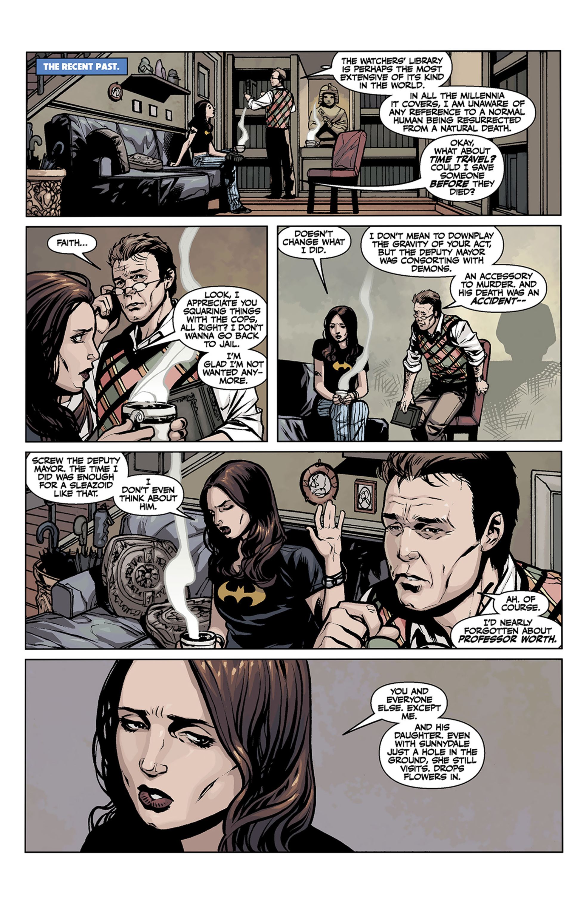 Read online Angel and Faith comic -  Issue #2 - 23