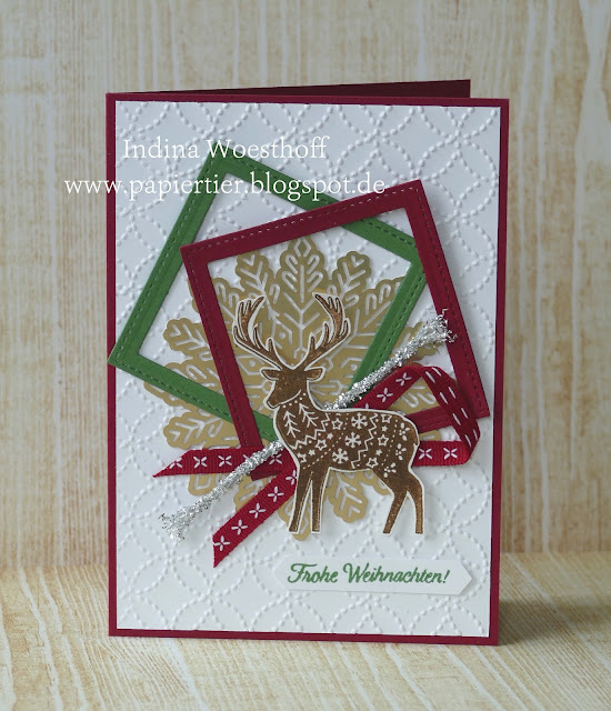Freude im Advent | Stampin' Up | papiertier Indina