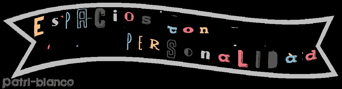 cartel espacios con personalidad