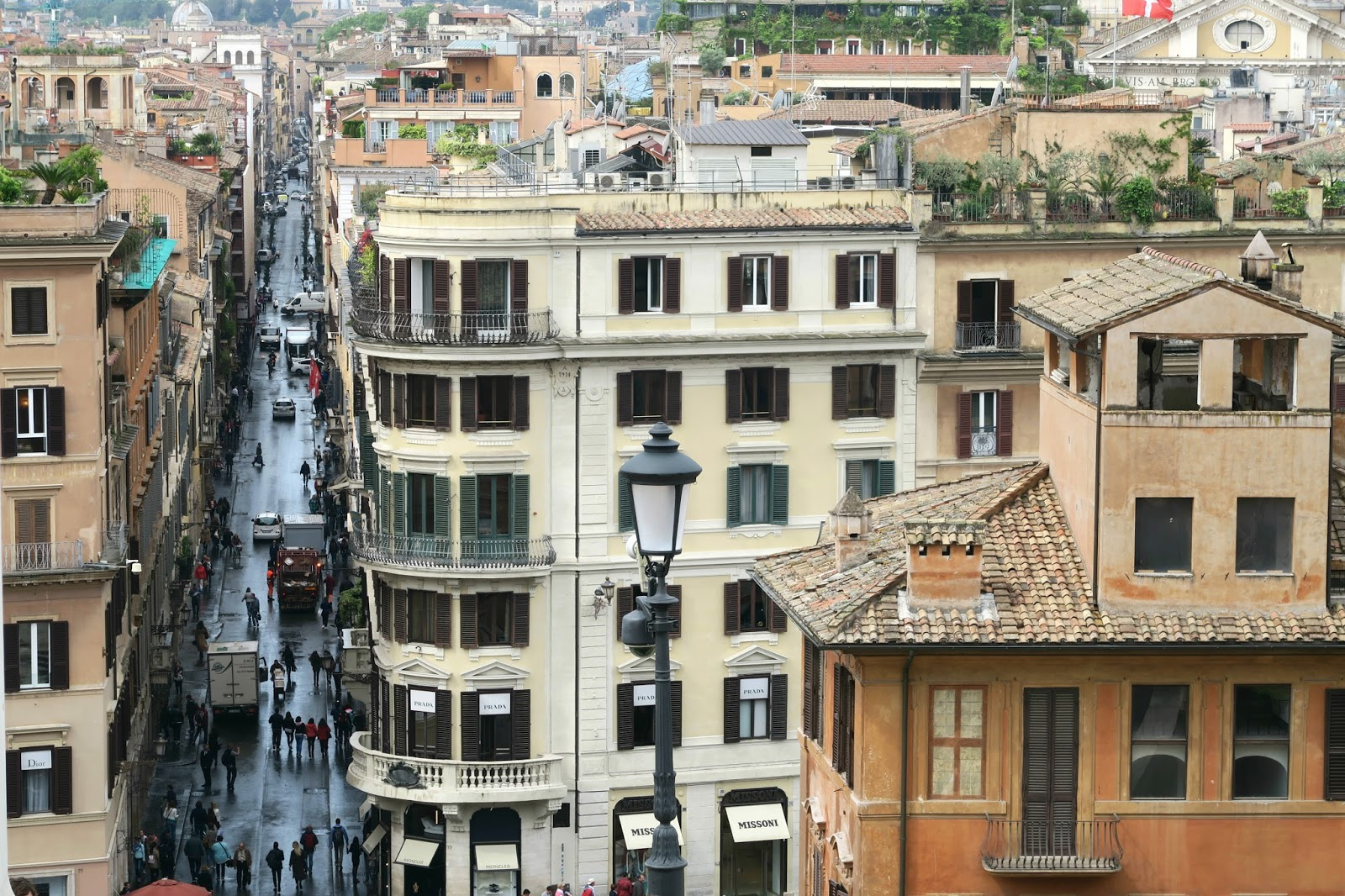 Highstreets in Rome