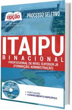 Apostila Itaipu 2017 Profissional de Nível Superior Jr
