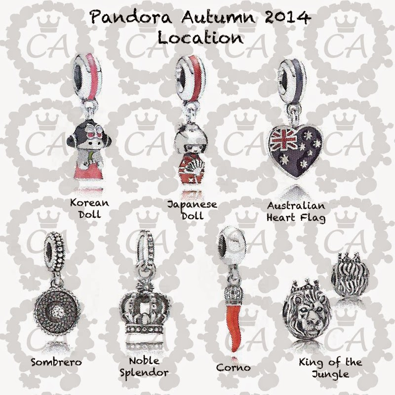 Www Pandora Jewelry Com Store Locator: New Fashion Arrivals: Pandora Jewelry Autumn Charm
