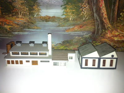 N GAUGE KIBRI VOLLMER FACTORY BUILDINGS