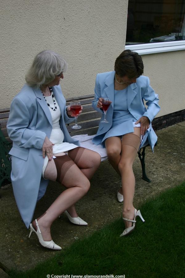 When two mature ladies meet again - 3 part 3