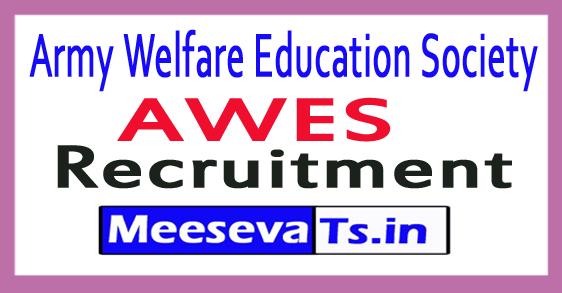 Army Welfare Education Society AWES Recruitment 2017-18