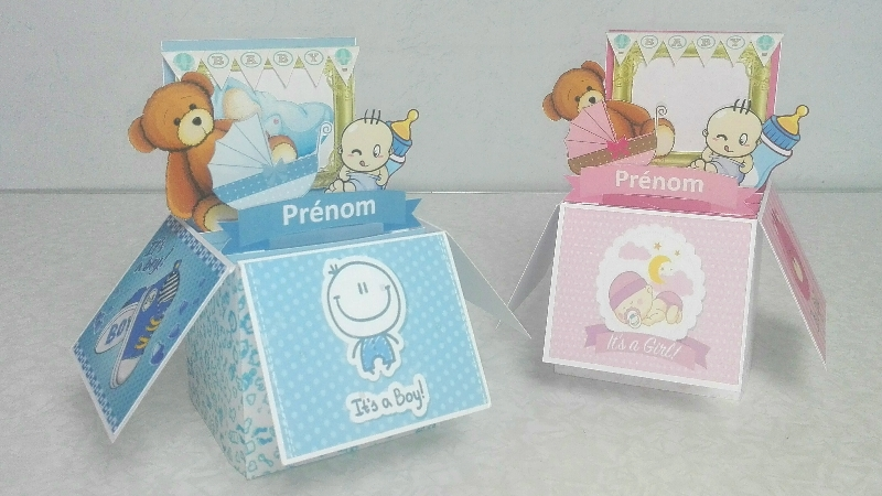 Extrem Carte Popup en 3D - DIY de faire-part de naissance ! simple ! AX48