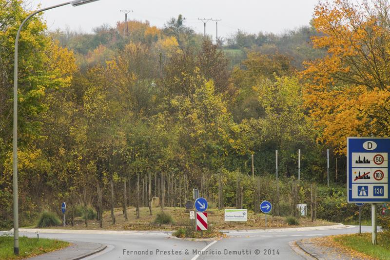 rotatória de Schengen