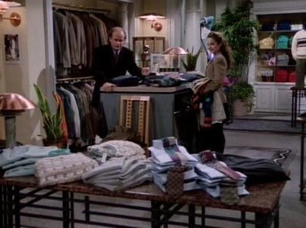 Frasier - Season 1 Episode 20: Fortysomething