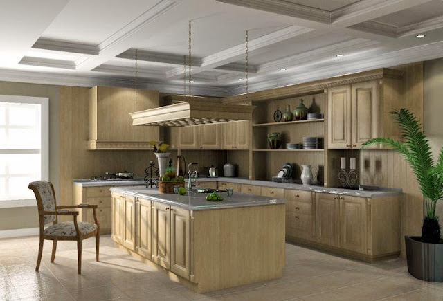 Classic Kitchen Cabinet with Modern Look