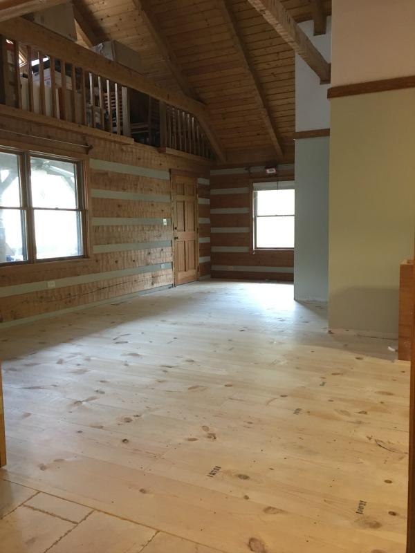 Diy Wide Plank Pine Floors Part 1 Installation The