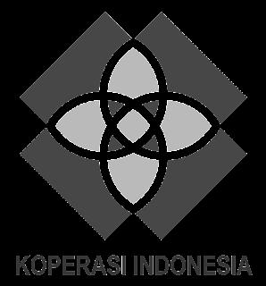 image: Logo koperasi baru hitam putih