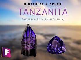 Tanzanita - Propiedades, caracteristicas e imitaciones