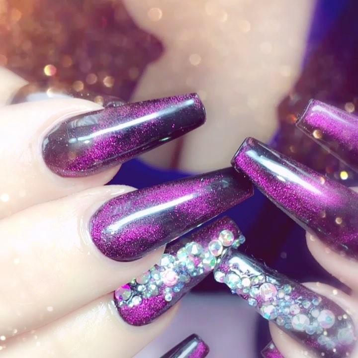 ballerina nails: 5 Impressive Ballerina Nails – Coffin