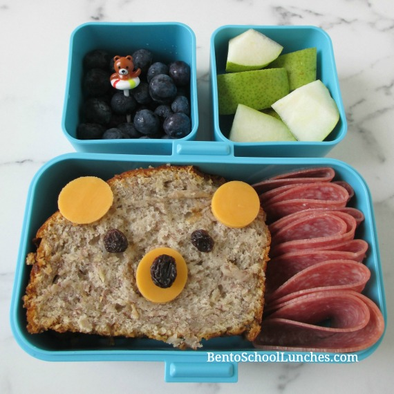 Banana Bread Bear Bento