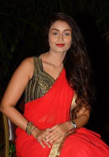 Kiran Chetavani Hot Stills in Saree 6.jpg