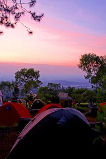 pagi di camp mawar ungaran