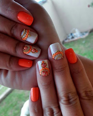 unhas decoradas no 2018