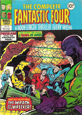 The Complete Fantastic Four #35, Luke Cage and the Wrecker