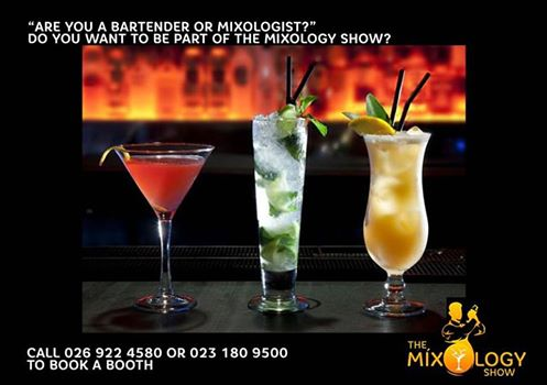 Are you a bartender or mixologist? Do you want to be part of the mixology show?