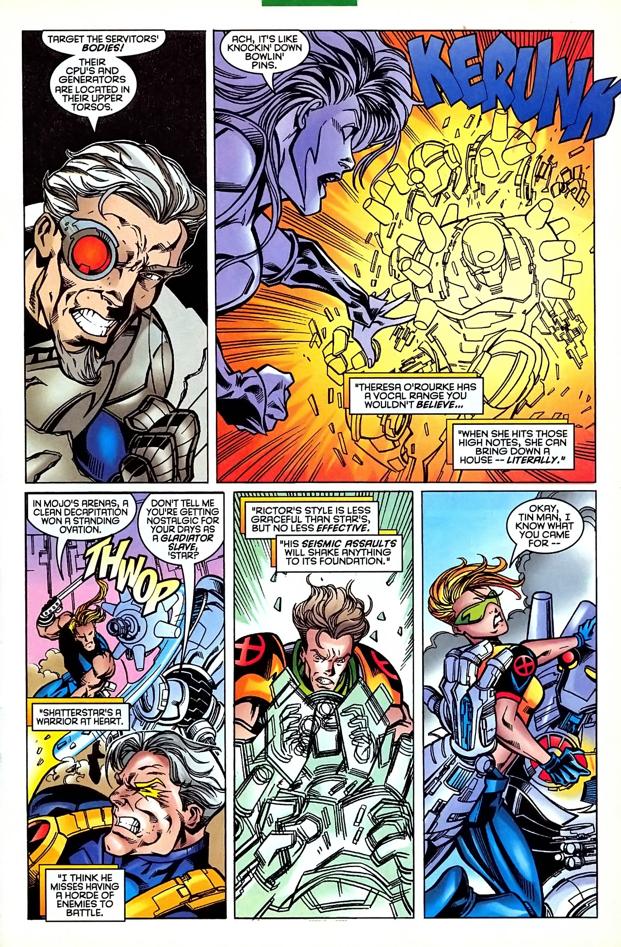 Read online X-Force (1991) comic -  Issue #63 - 17