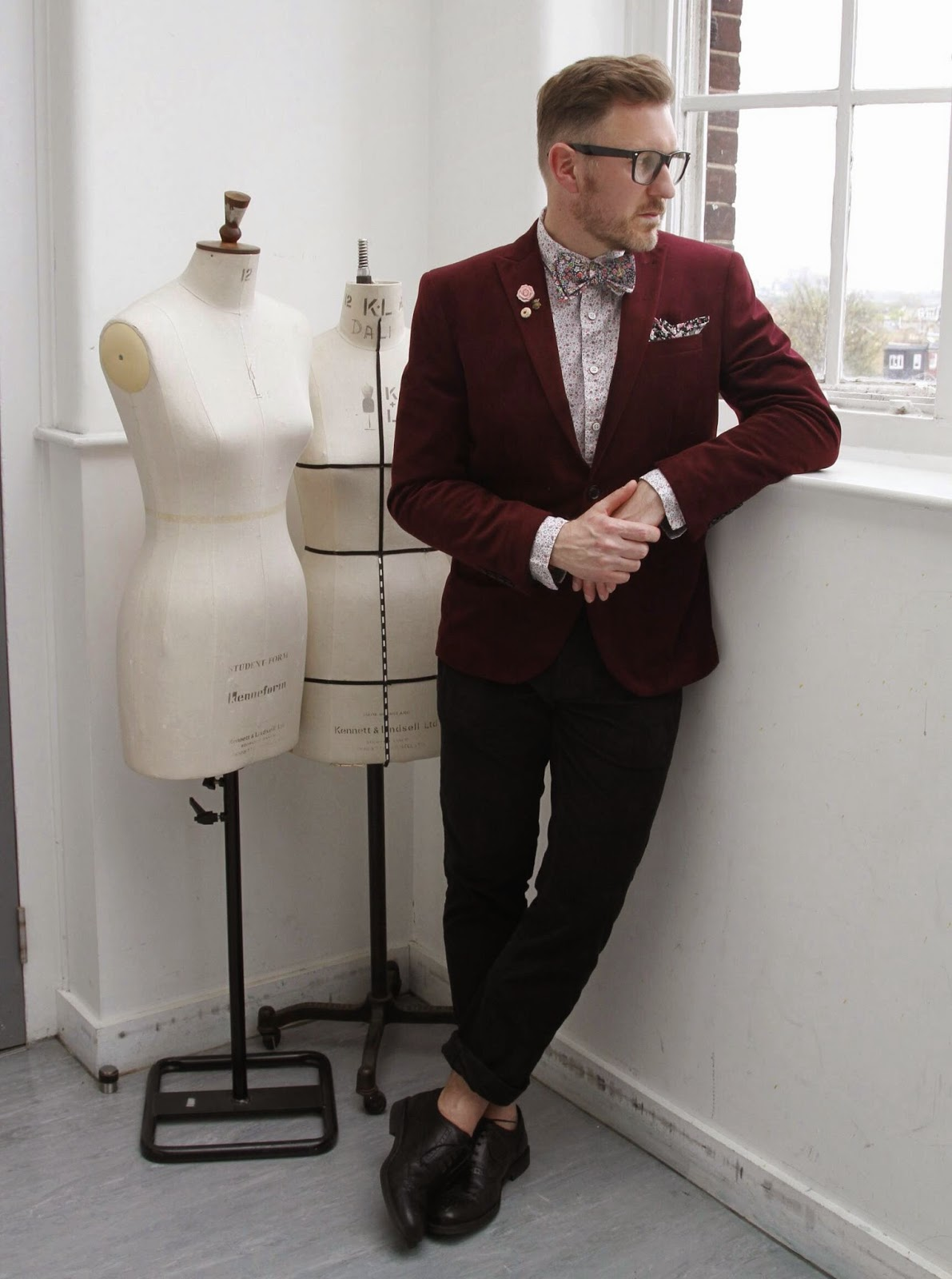 Blogger interviews mens accessory brand The Cordial Churchman