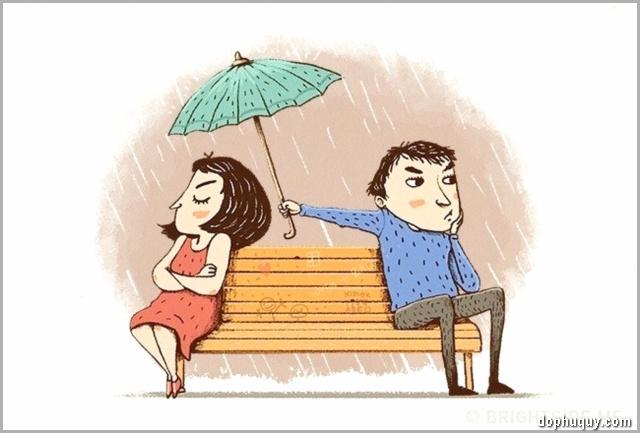 giận nhưng vẫn quan tâm nhau