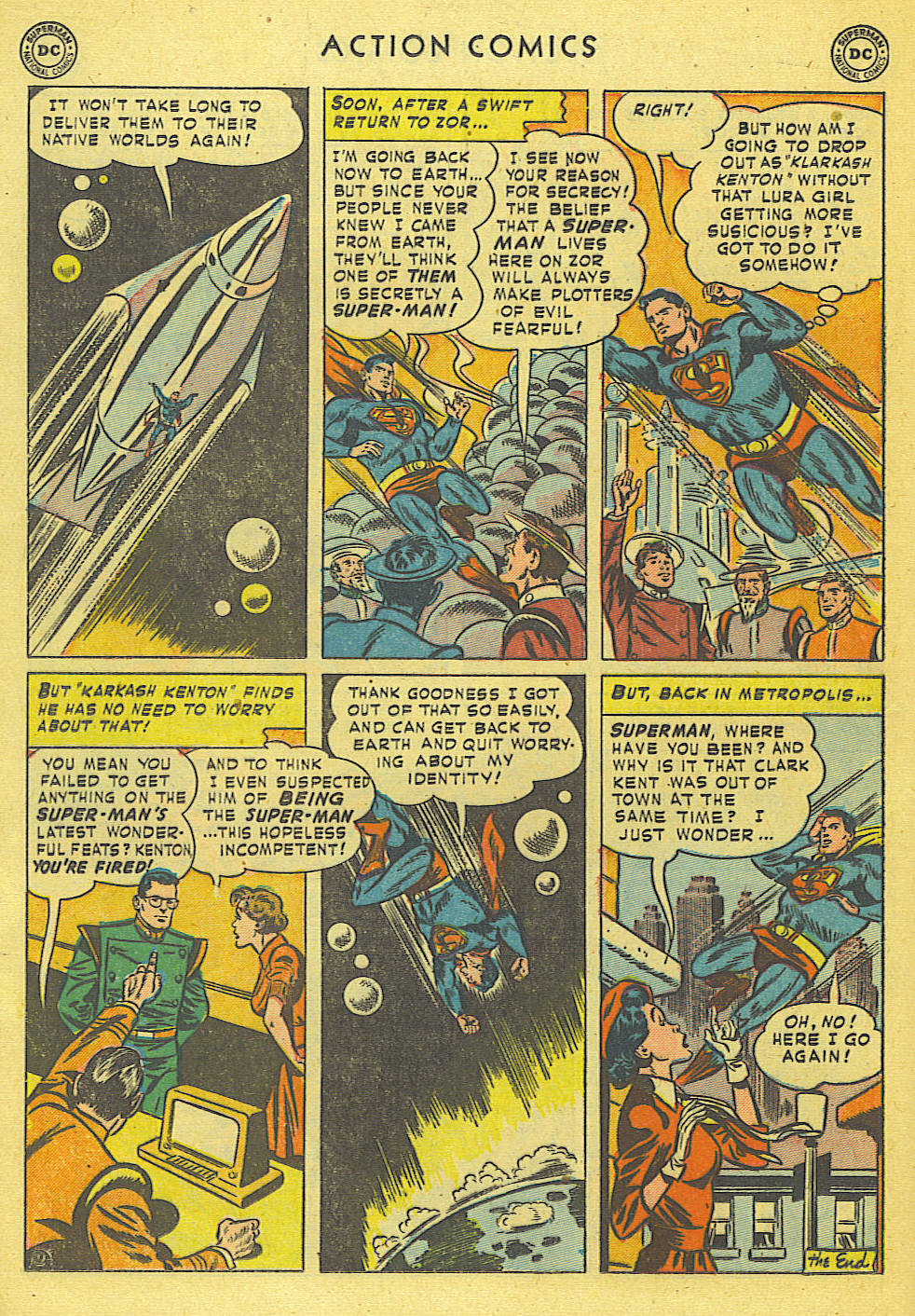 Read online Action Comics (1938) comic -  Issue #168 - 13