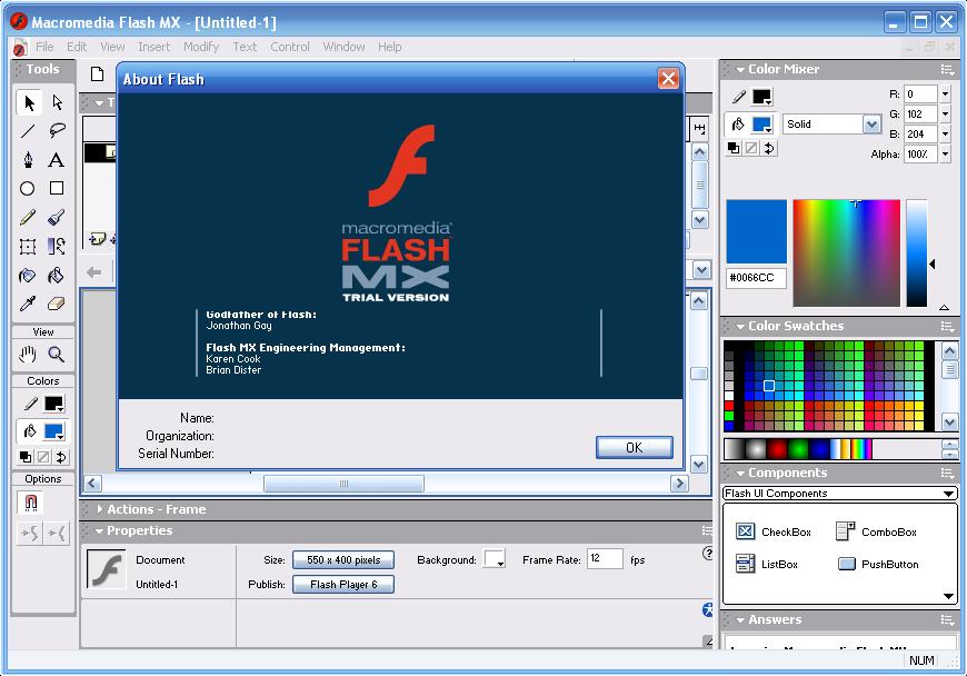 Macromedia flash mx crack free download : cireppu