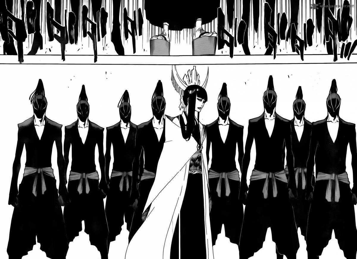 Bleach Ch 597: Winded By The Shadow