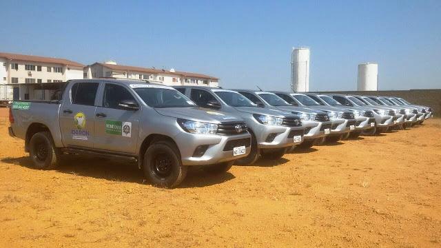 Idaron em Rondônia adiquire 20 novas camionetes por  R$ 2.496.000,00 milhões de reais