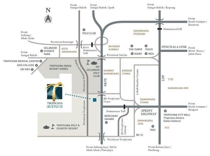 Tropicana Avenue Malaysiacondo