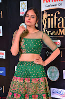 Nandita Swetha in a tight Green Choli Ghagra at IIFA Utsavam Awards March 2017 ~ 016.JPG