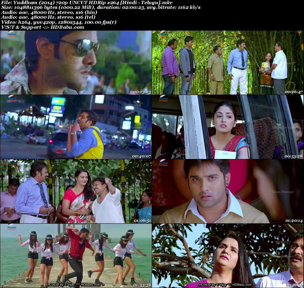 Yuddham Hindi Dual Audio Full Movie Download